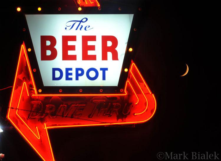 Beer Depot Sign