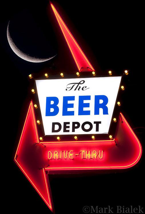 Ann Arbor Beer Depot Moon