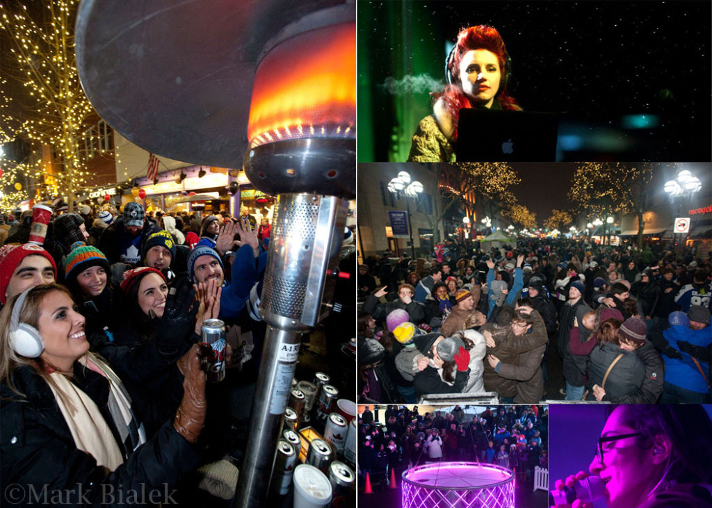 Spectacular New Years Eve Street Party in Ann Arbor