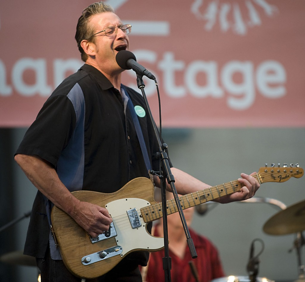 George Bedard closes out Ann Arbor Summerfest 2014