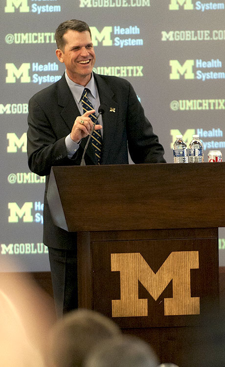 Jim Harbaugh New Michigan Coach