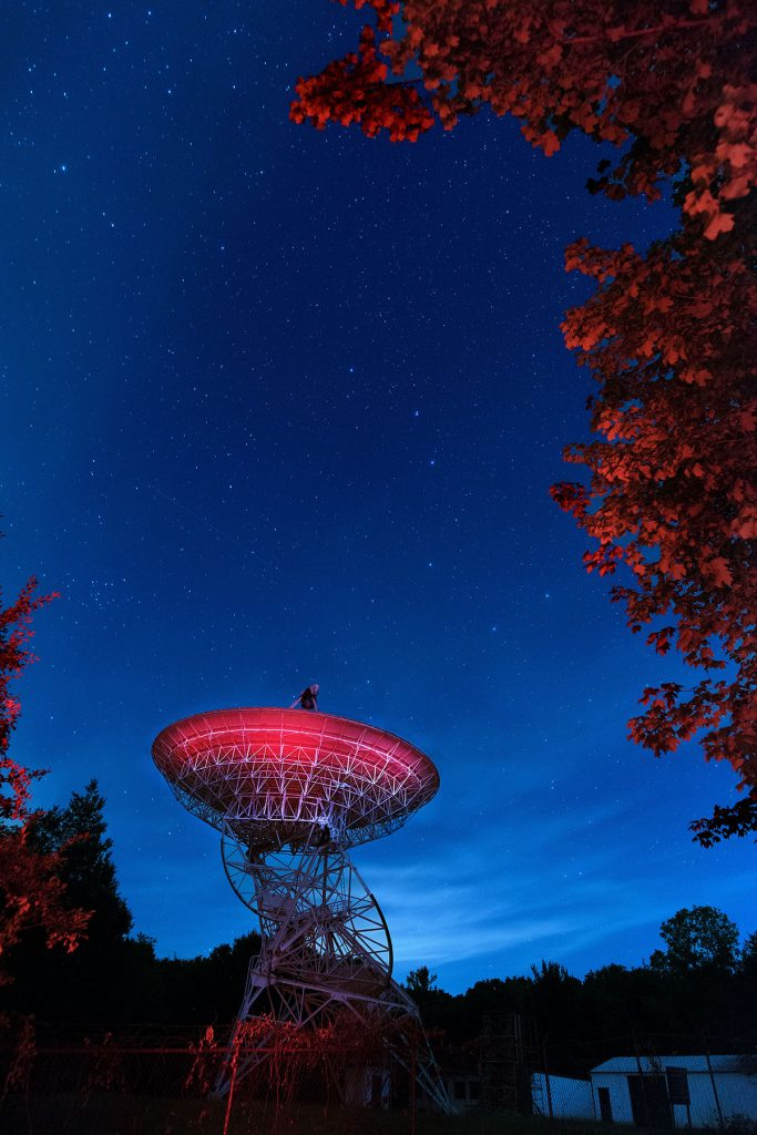 radio telescope peach mountain