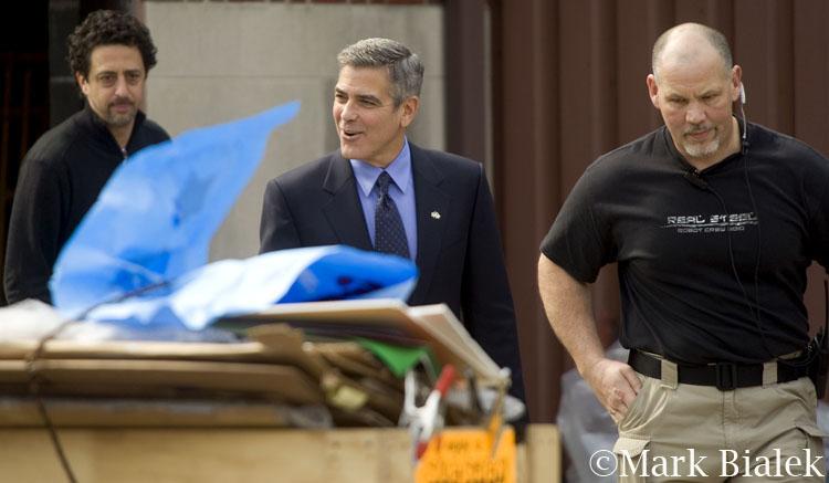 George Clooney in Ann Arbor