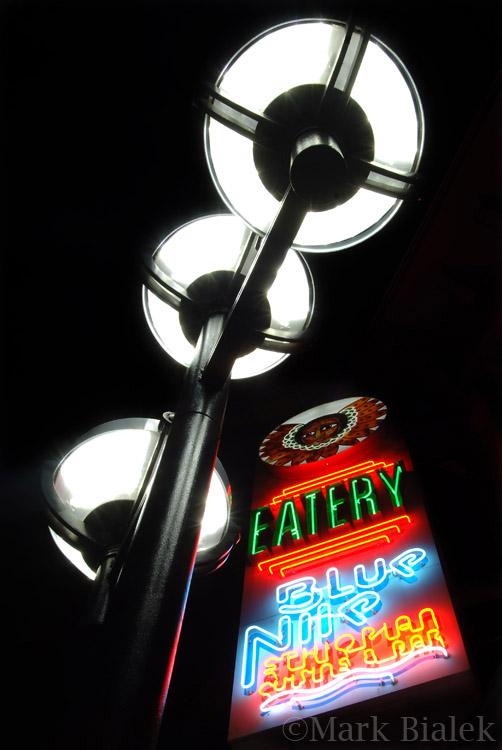 LED lights Blue Nile
