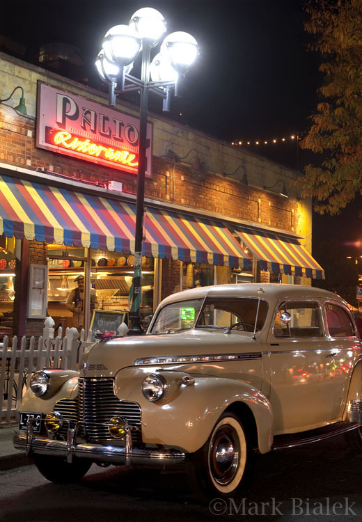 Classic car in ann arbor