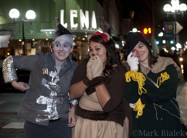 Halloween Partying Ann Arbor Nights