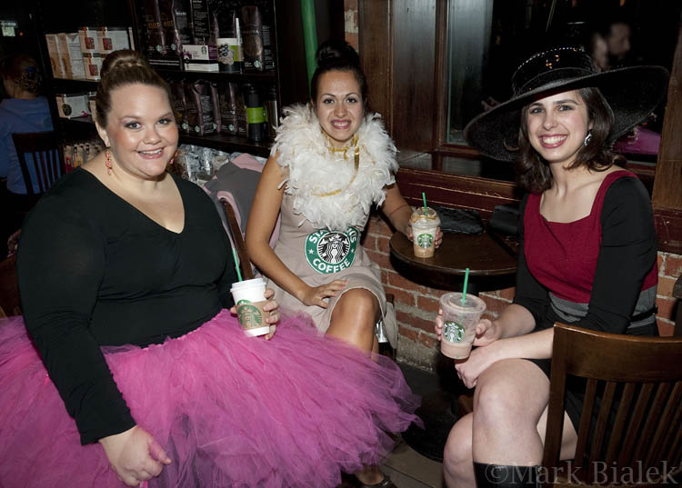 costumes and coffee