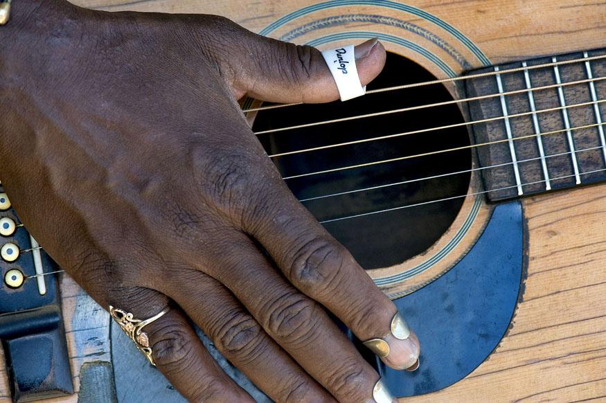 Paul Miles slide guitar