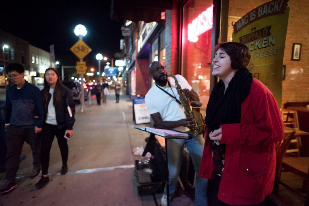 Street jazz music ann arbor